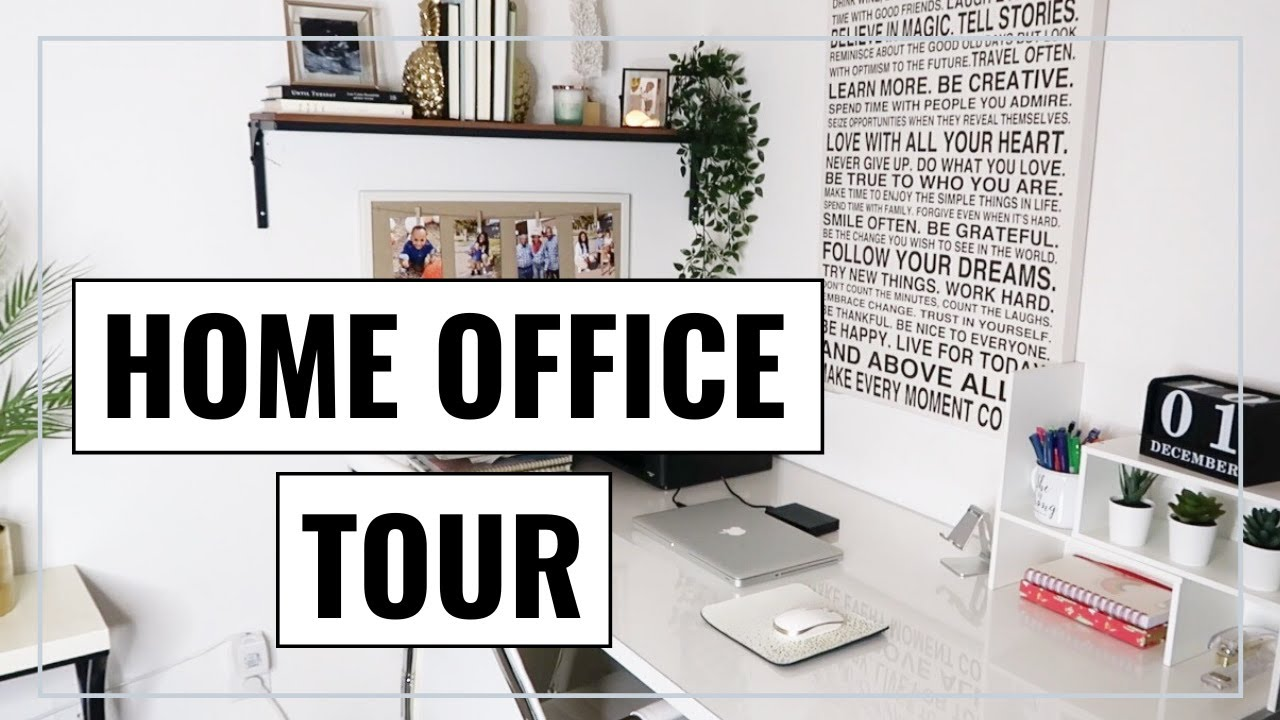 Home Office Tour 2020 Small