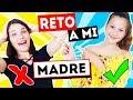 RETO A MI MADRE | SLIME vs SLIME | STACKING y JENGA | Daniela Golubeva