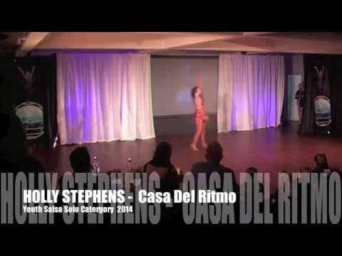 SALSA SOLO NEW ZEALAND 2014 - YSS - Holly Stephens