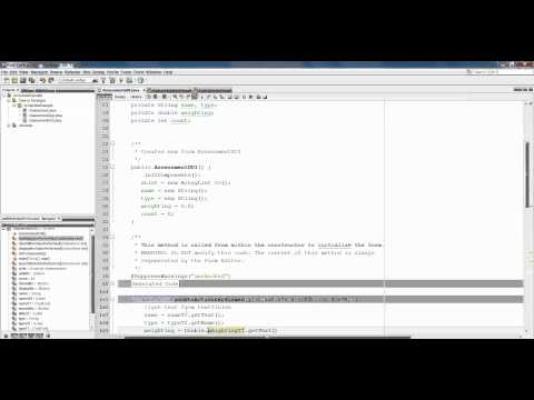 ArrayLists Worked Example Part 1 (Adding & Displaying)