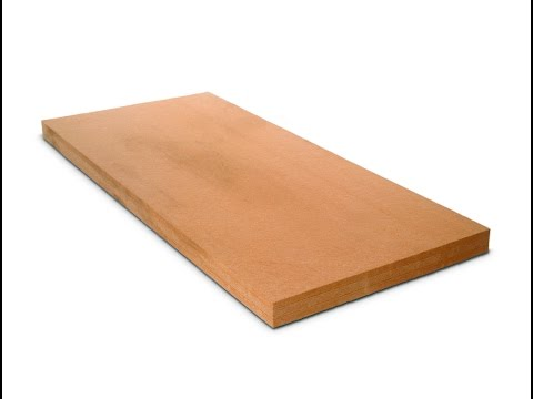 Production of STEICO wood fibre insulation boards - wet manufacturing process