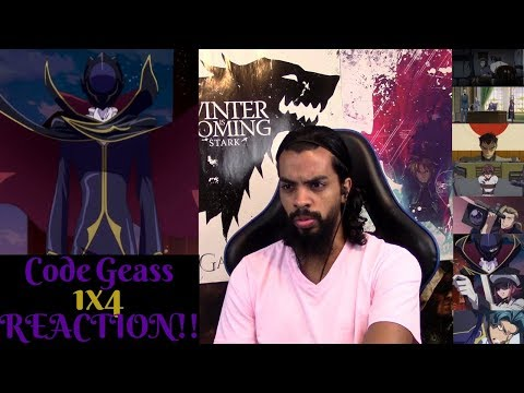 Code Geass:Lelouch of the Rebellion 1x4 REACTION/REVIEW!!!