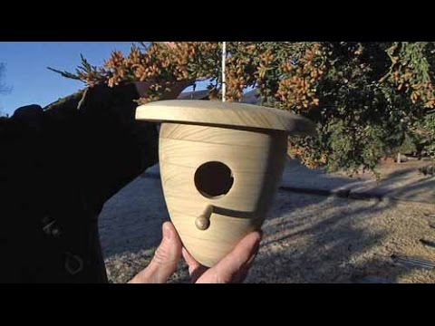 Woodturning with Tim Yoder Classics-Birdhouse
