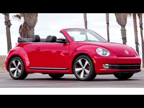 2013 VW A5 Beetle Convertible First Commercial LA Auto Show Carjam TV HD 2013 Car TV Show