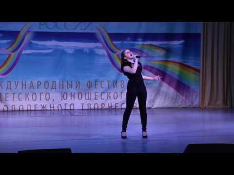Видео, Устинова Даниэла   cover This is the mens world Союз талантов России