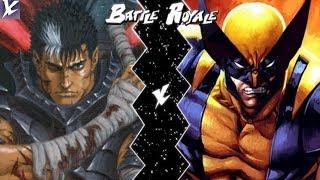 Cesaret VS Wolverine (Berserk X Marvel) | Battle Royale S1E3 | K