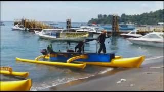 Ekspedisi Jukung Modern Tembus Lombok