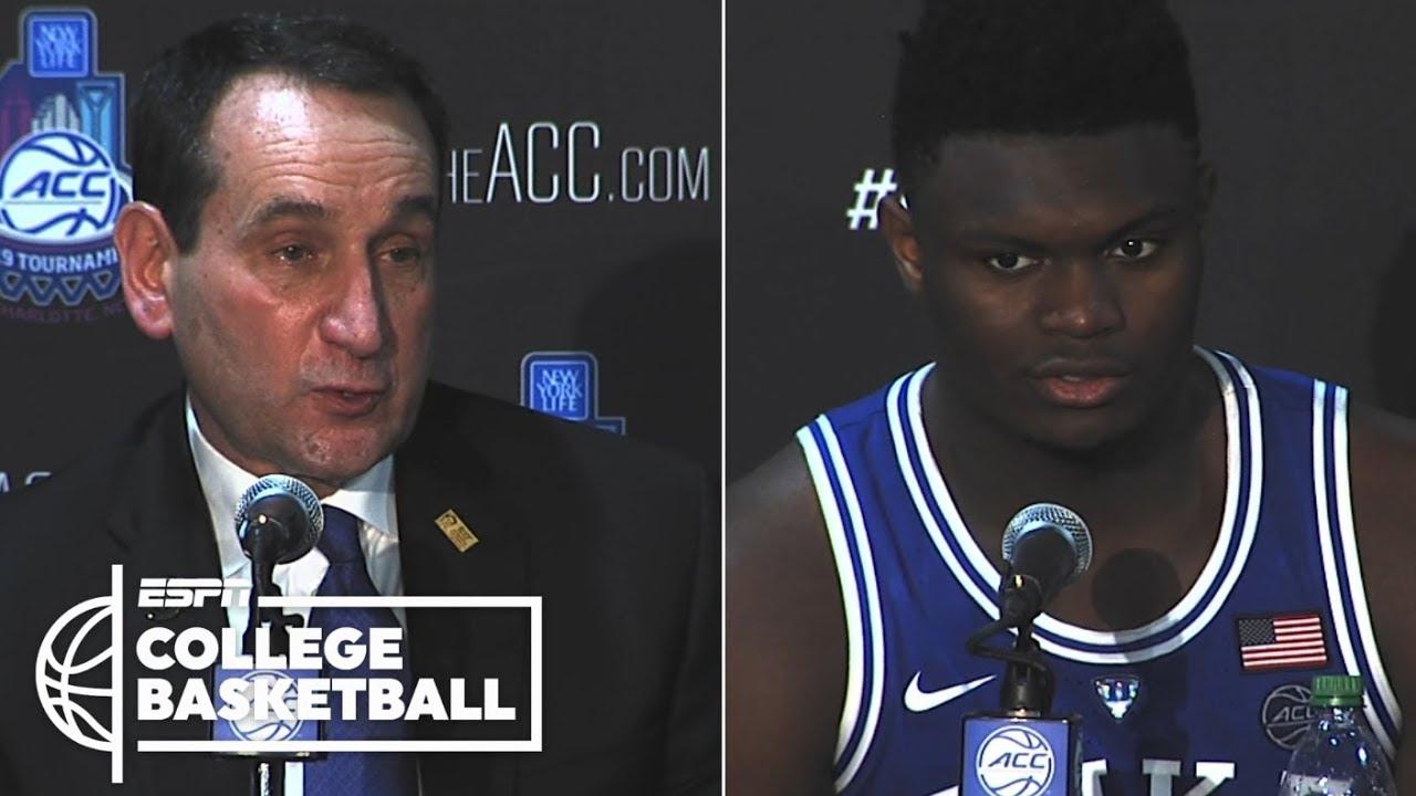 super popular b977e da0c1 Coach K calls ACC semifinals 'vintage Duke-North Carolina' | College  Basketball Sound