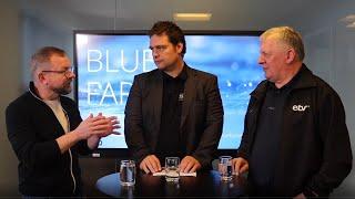 BLUE FAROE ISLANDS KJAK: Ólavur Gunnarsson og Eyðun Hansen