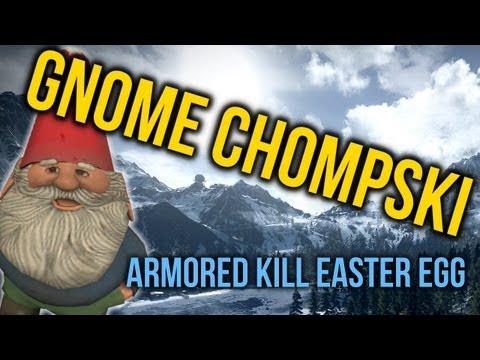 Gnome Chompski In Alborz Mountains (Armored Kill Easter Egg)