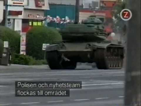 Worlds Wildest Police Videos - Crazy Tank Runaway