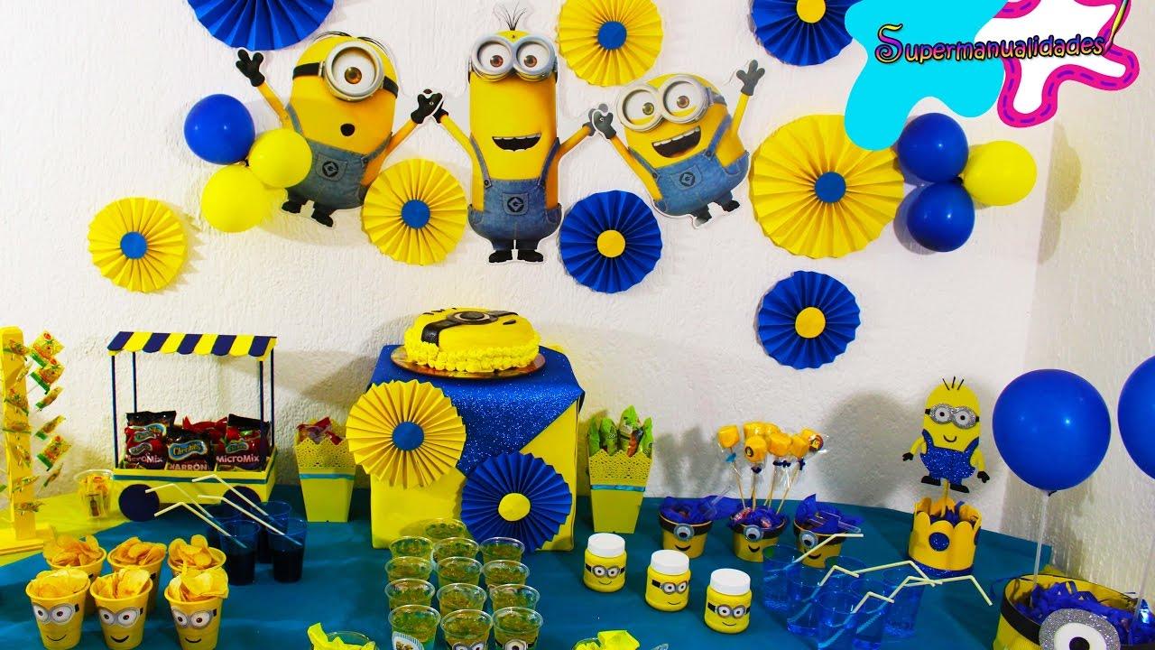 Ideas de minions para fiesta mesa de dulces - Imagenes de fiestas de cumpleanos ...