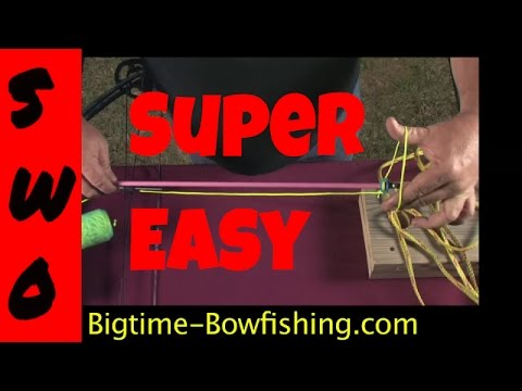 How To Tie The AMS And Cajun Archery Safety Slide Knot