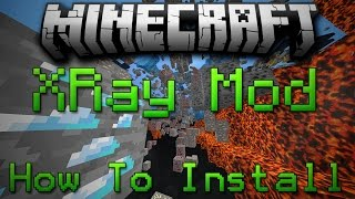 Minecraft 1.11.2: How To Install XRay Mod Without Forge!