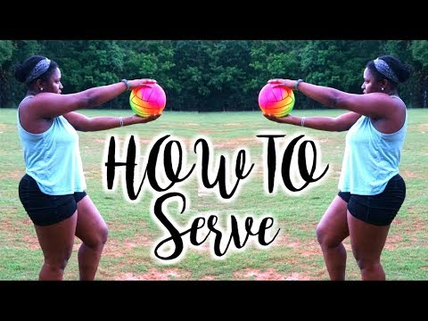 How To Overhand Serve A Volleyball BETTER!
