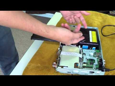 Sony Blu Ray Player Disassembly and Lens Cleaning