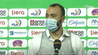 🎙️| #طارق السكتيوي مدرب#نهضة بركان بعد التعادل أمام #الرجاء_الرياضي