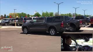 2019 Ram 1500 Self Parking Tutorial