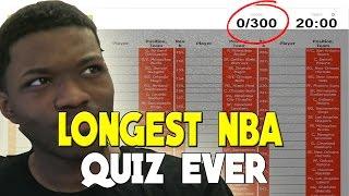 THE LONGEST NBA TRIVIA QUIZ