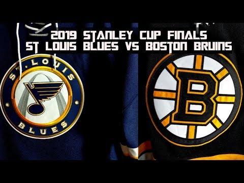 2019 Stanley Cup Finals Preview - St Louis Blues vs Boston Bruins