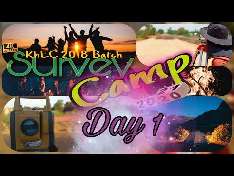 Survey Camp 2021 • KhEC 2018/2075 Batch • Day 1 • Survey Camp 2077