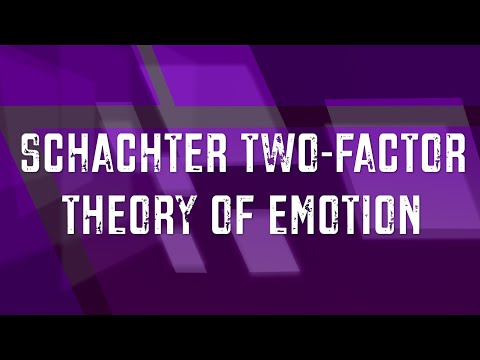 Schachter Two-Factor Theory of Emotion