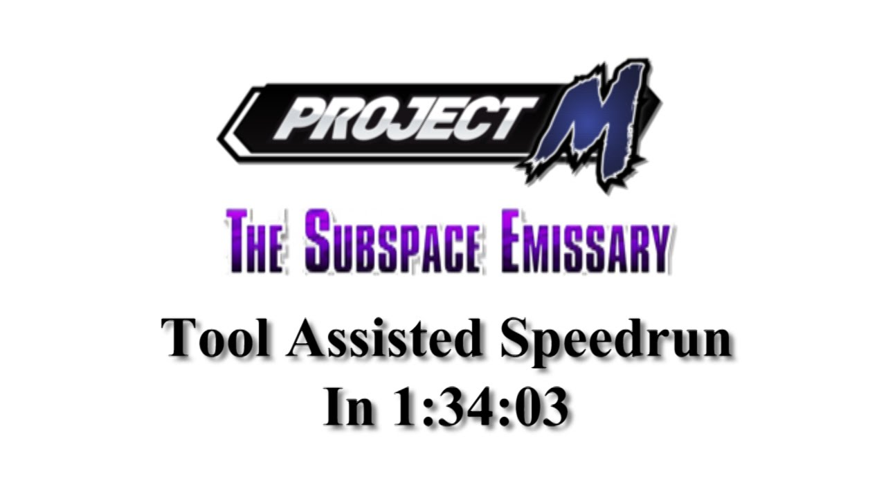 Mega Outdated Tas Project M The Subspace Emissary In 13403