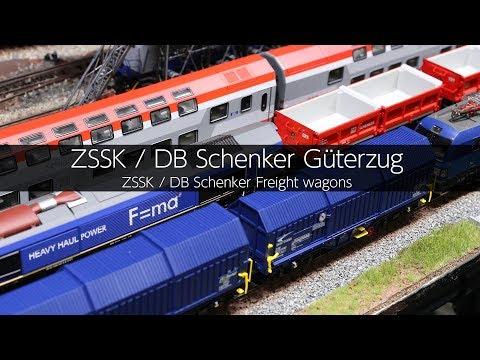 ZSSK / DB Schenker Güterzug - VLOG50