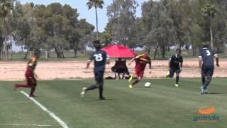 Real Salt Lake-Arizona Academy U-17/18 vs. Santa Cruz Breakers Academy Highlights | May 9, 2015