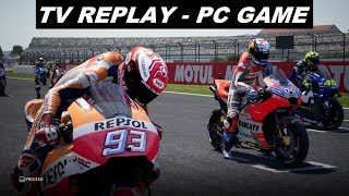 MotoGP 18 | MotoGP | #ValenciaGP | TV REPLAY | PC GAME