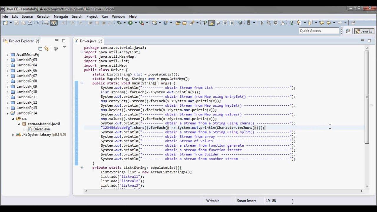 Java 8 Streams