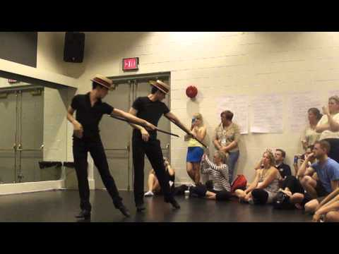 """Chet Walker Workshop, choreography from """"Pippin"""""""