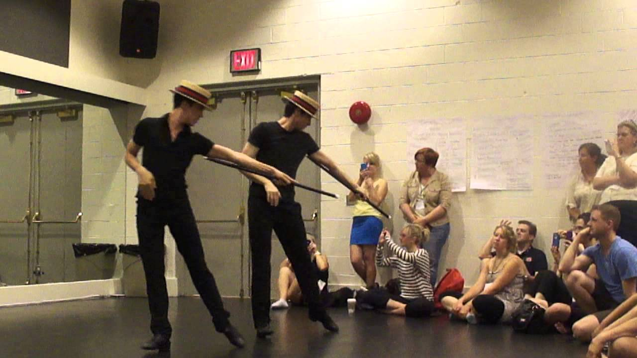 "Chet Walker Workshop choreography from ""Pippin"""