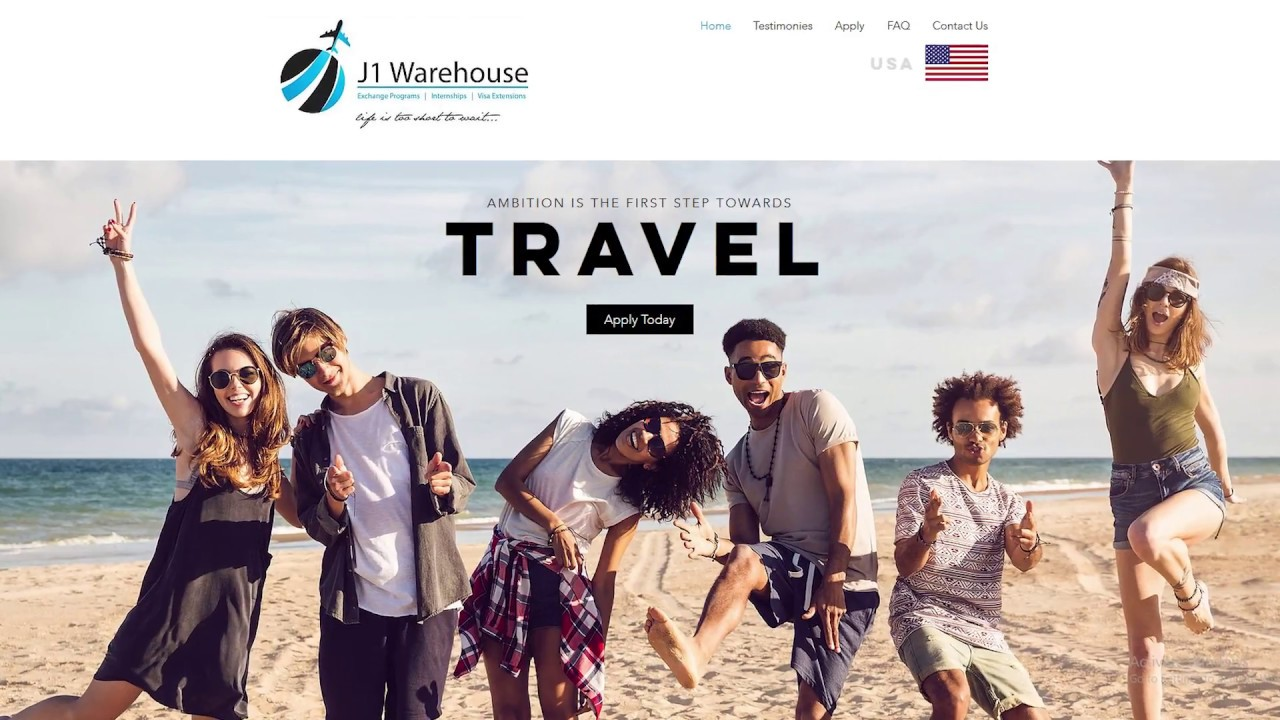 Work Travel or Intern the United States [USA] - visit J1 Warehouse.com