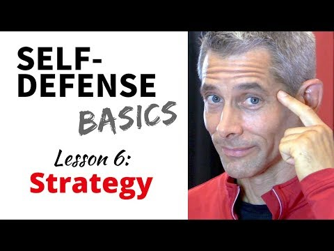 Self-Defense Basics: Lesson 6 Strategy in a Physical Attack