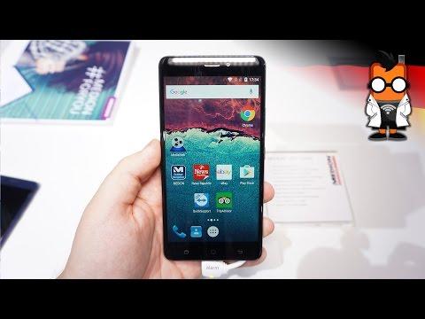 Medion X5520 - günstiges Smartphone mit guter Ausstattung - Hands On [deutsch]