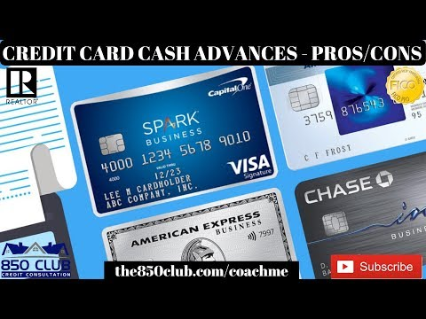 Understanding Cash Advances From American Express, Chase, Bank Of America, Citi Bank, & Discover