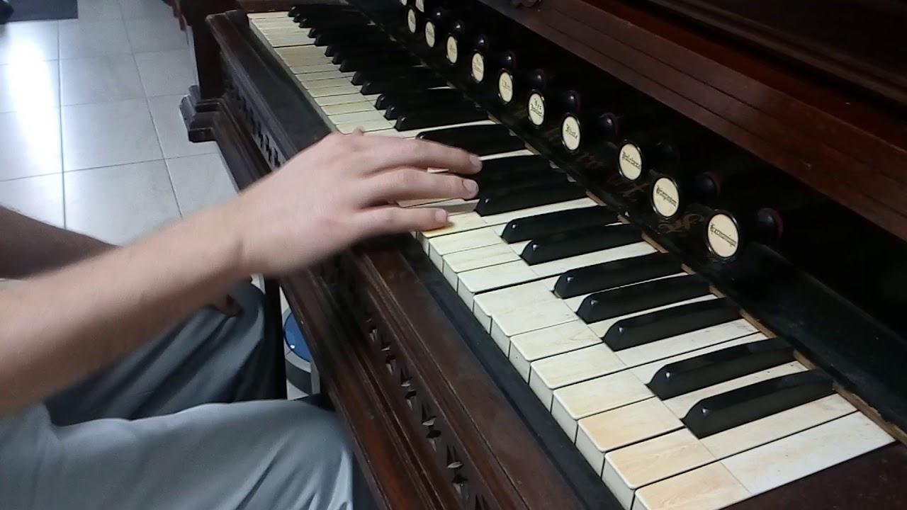 1863 Estey reed organ - YouTube