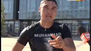 Серик Сапиев принял эстафету Ice Bucket Challenge