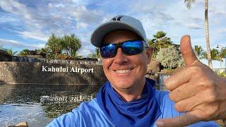 Maui , Hawaii Airport  Corona Virus Travel Update Today
