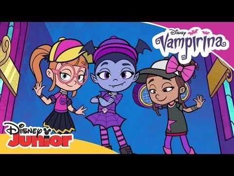 Ghoul Girls Rock: The Mummy Rap 🎶 | Vampirina | Disney Junior Arabia