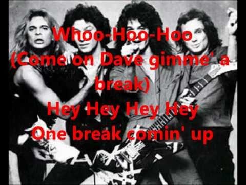 Van Halen Unchained Lyrics