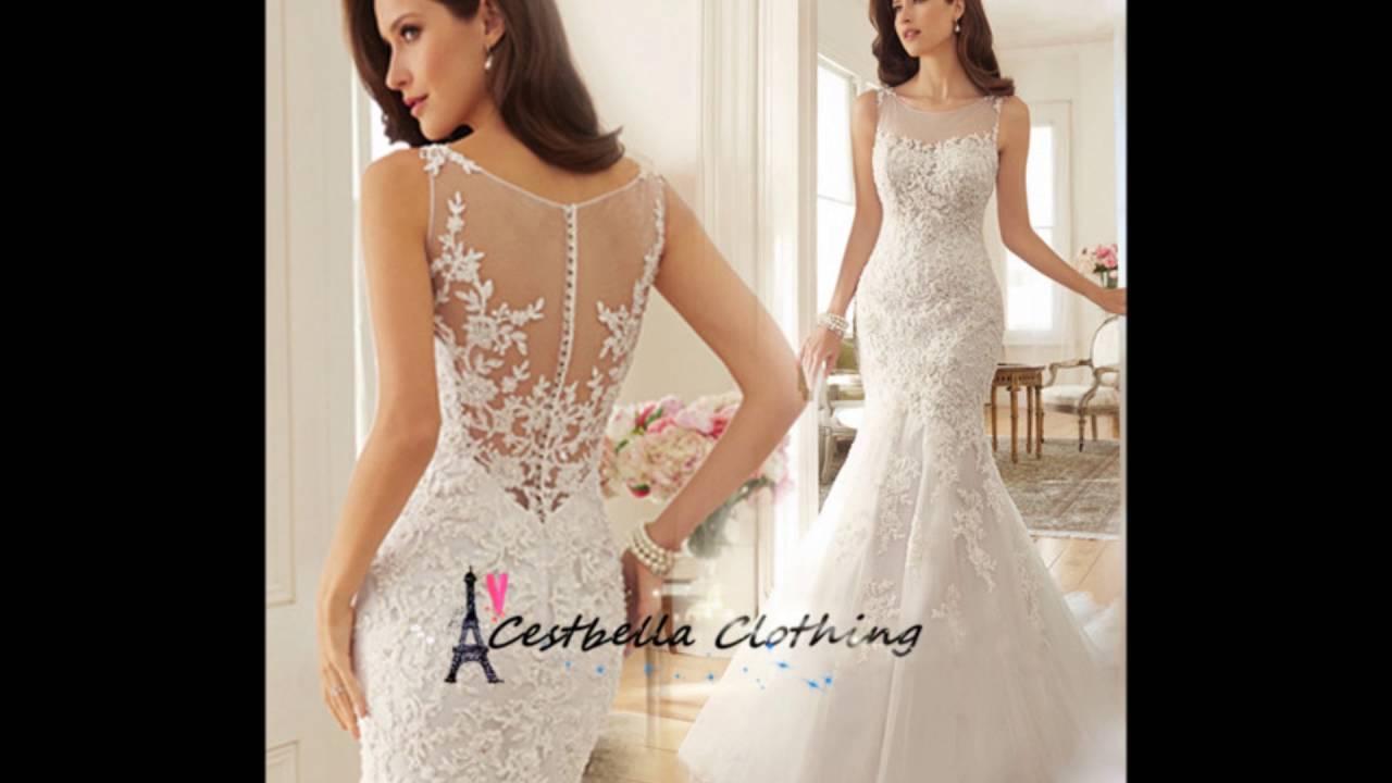 Elegant Hot Salt Of Cestbella Wedding Dress Dh Series