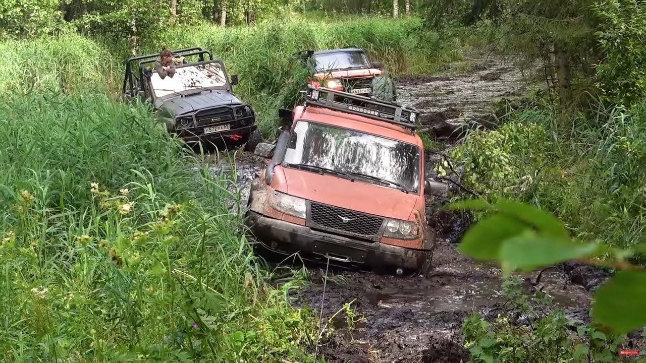 ДО ЧЕГО ДОВОДИТ СПОР? Попытка переплыть реку на ГРУЗОВИКЕ не в брод! Off-Road по-Русски 2020.