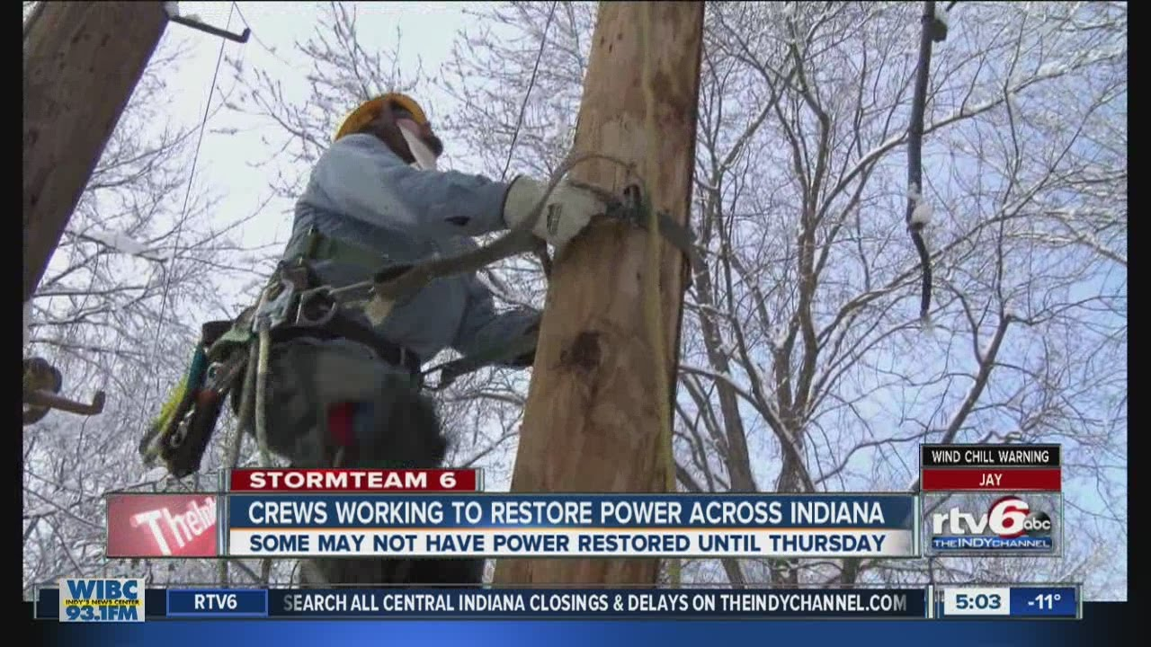About 67000 still without power after winter storm on Sunday