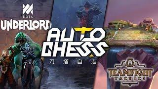 TFT vs UNDERLORDS vs Dota Auto Chess | Ein Vergleich der Auto Battler