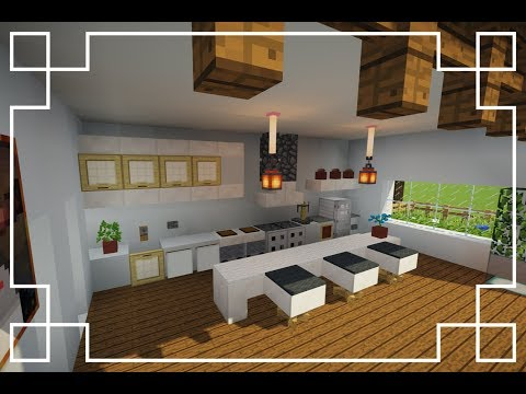 ✔[Minecraft] : How To Make A Kitchen