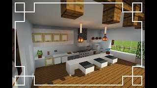 ⚒️[Minecraft] : How to make a Kitchen