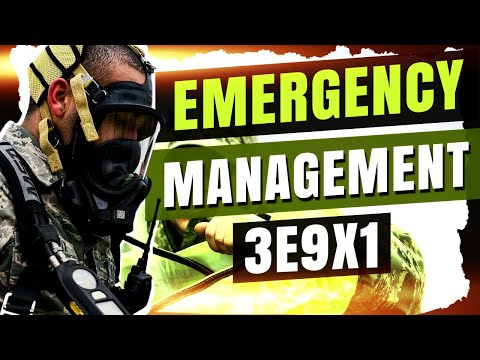 Emergency Management - 3E9X1 - Air Force Careers