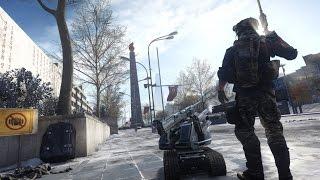Battlefield 4: Dragons Teeth - Lumphini Garden Gameplay (Chainlink) | EN